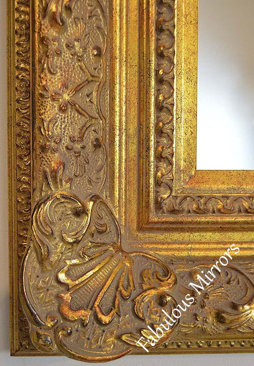Decorative Antique Gold Wall Mirror Full Range Of Sizes